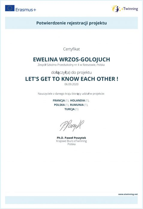 eTwinning Project Approval